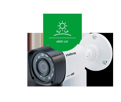 Mais proteção, mais durabilidade do VHD 1220 B G4 Intelbras