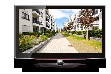 Imagem perfeita em resolução HD do VHD 1010 D G4 Intelbras