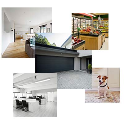 Residencia, Condomínio, Comércio e Empresas