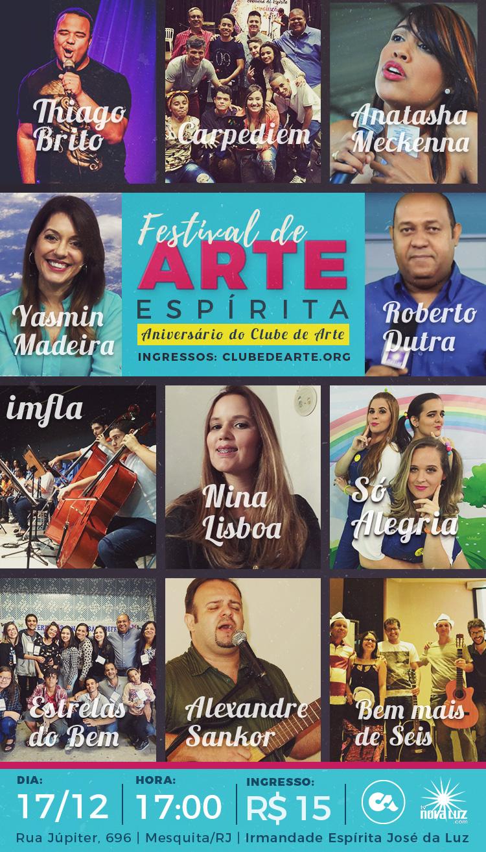 Festival de Arte - Clube de Arte