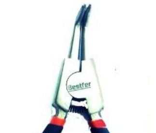 Alicate Para Anéis Externo Bico Curvo Bestfer 165 mm