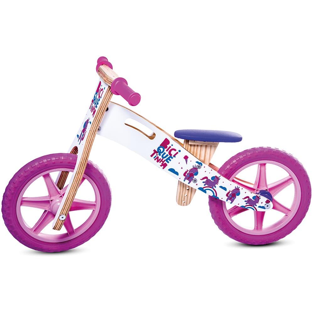 Unicórnio bicicleta sem pedal