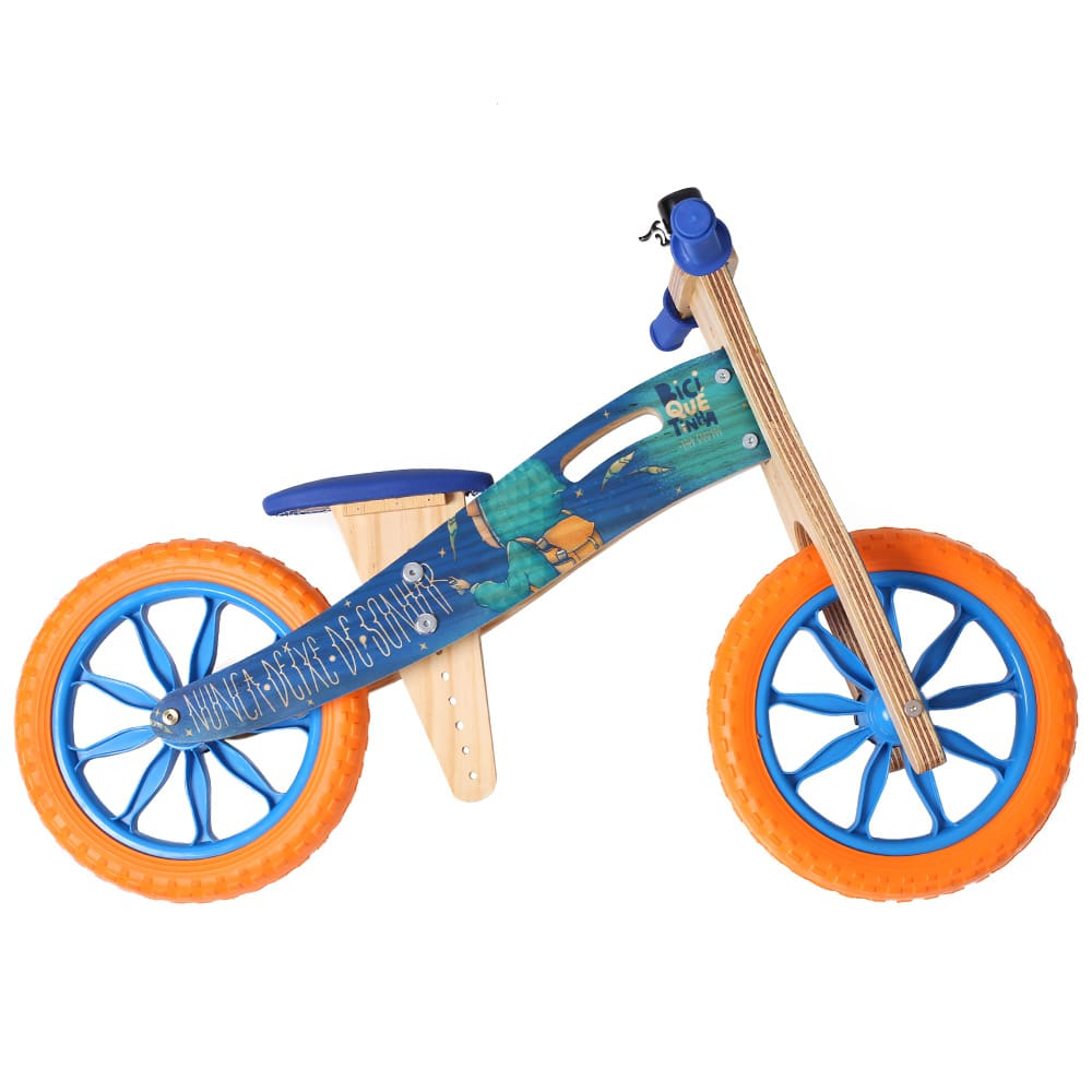 Bicicleta de equilíbrio Digo Nunca Deixe de Sonhar