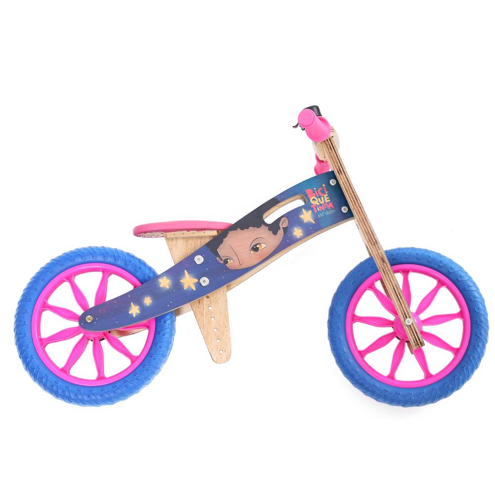 Bicicleta de equilíbrio Digo Meninos e Meninas Rosa