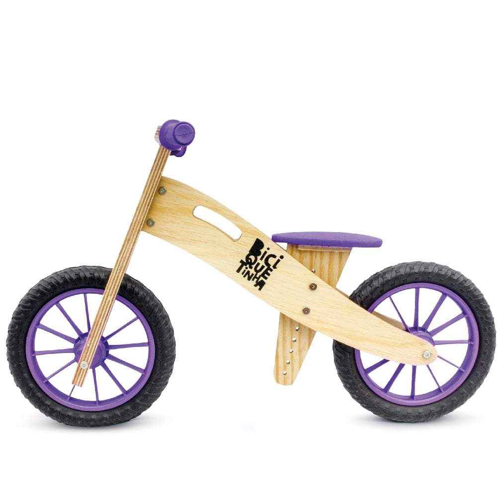 Wood Bike Roxo