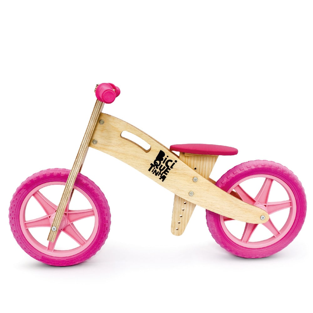 Wood Bike Rosa