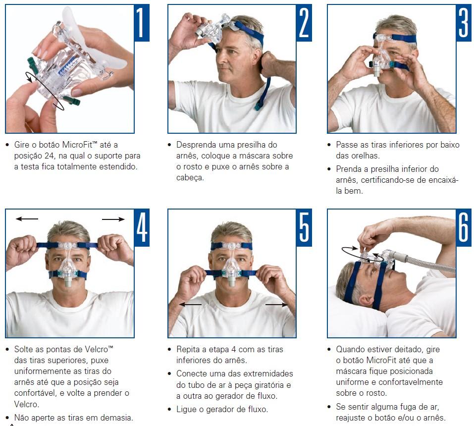 Máscara Nasal Mirage Micro™ Resmed