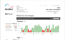 Relatório Sistema AirView Resmed
