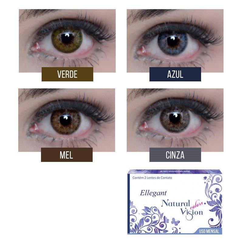 e9d4824222660 Linha Ellegant Natural Vision possuem 4 opções de cores  Cinza