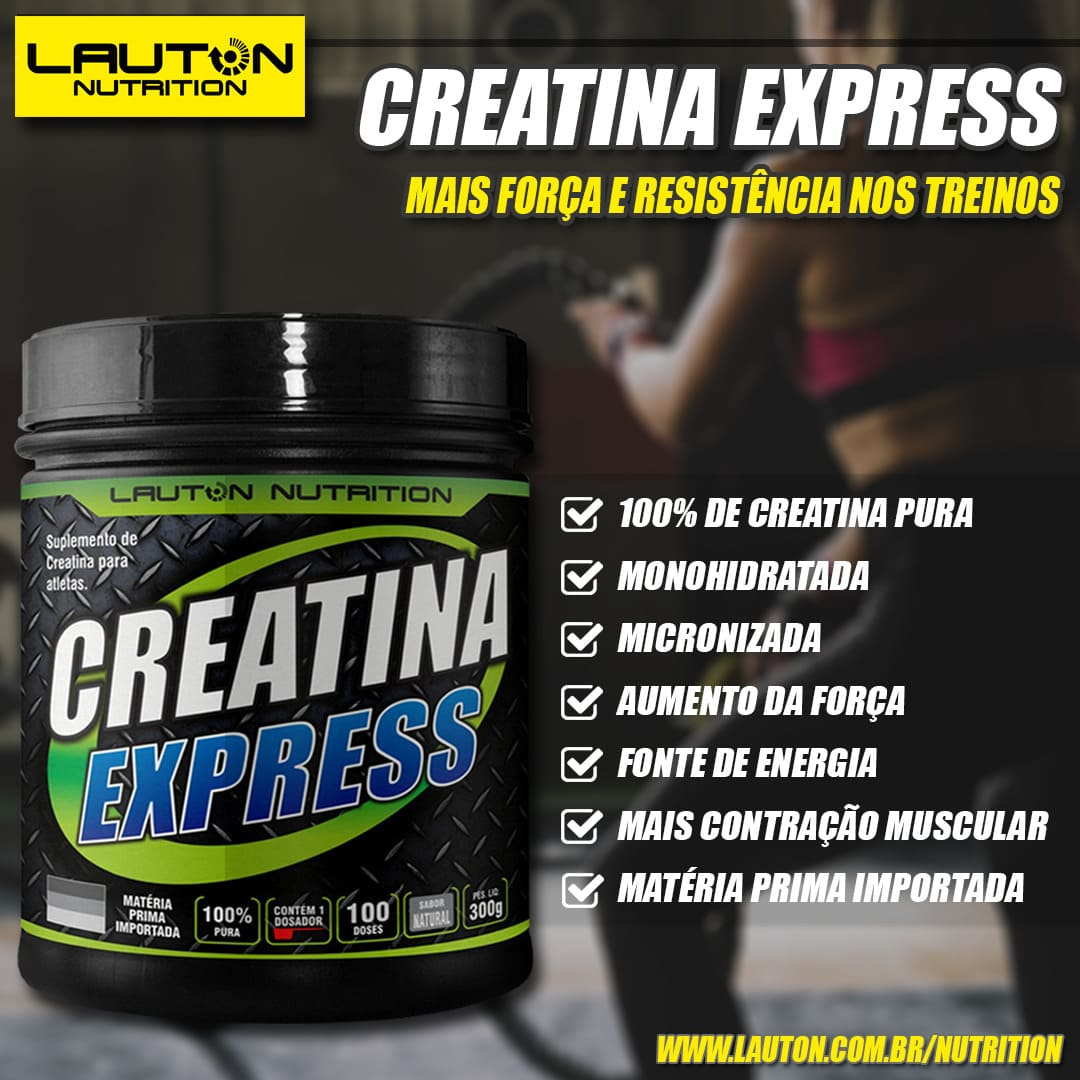 Creatina-100%Pura-LautonNutrition