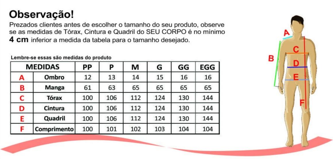 930b6fd87a Jaleco tradicional Masculino Cores Diversas