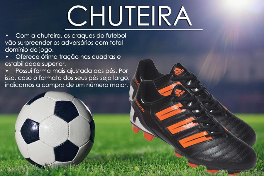 089482323e94a Chuteira Futsal Adidas Messi Masculina Confortavel Original