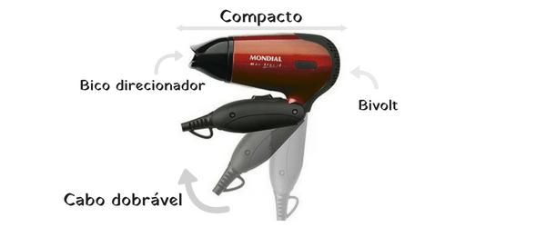 e2c7f7873 A embalagem contem 1 secador Max Travel