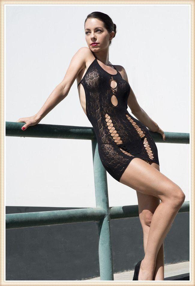 Body Sensual macacão kingspearl stocking