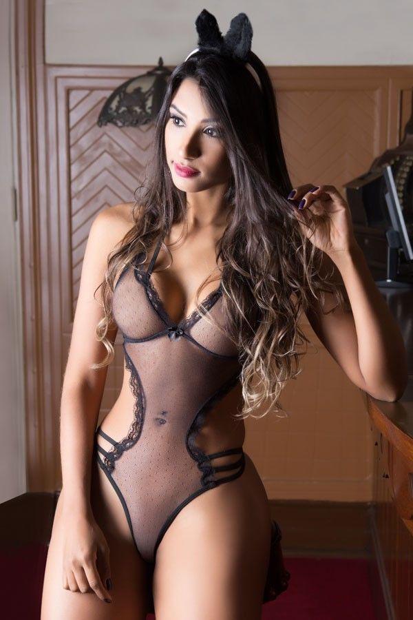 Fantasia feminina Coelhinha Sapeca - Garota Veneno