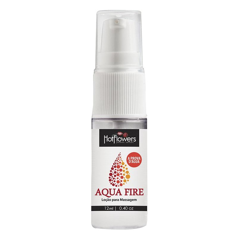 [Gel Lubrificante á base de silicone Aqua Fire 12ml]