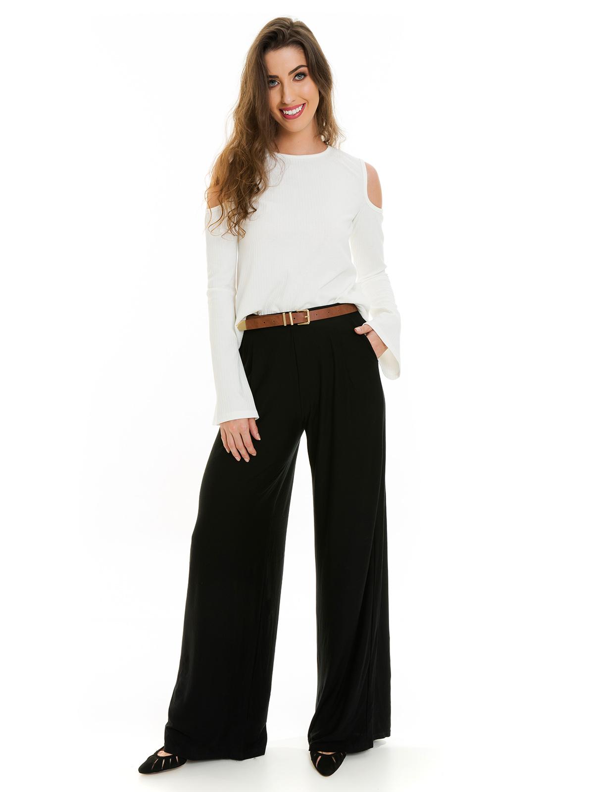 Calça Pantalona Preto