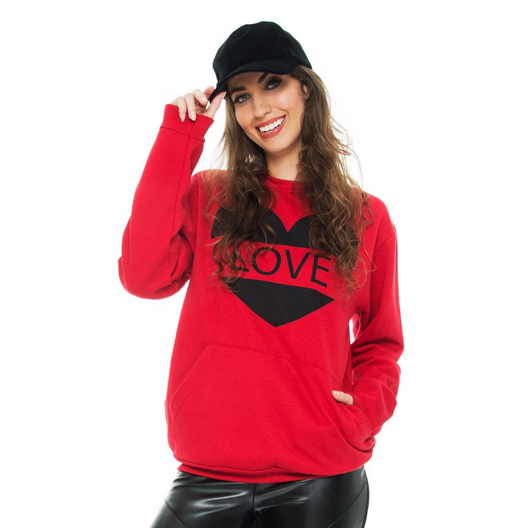 Blusa Gola Fashion Vermelha