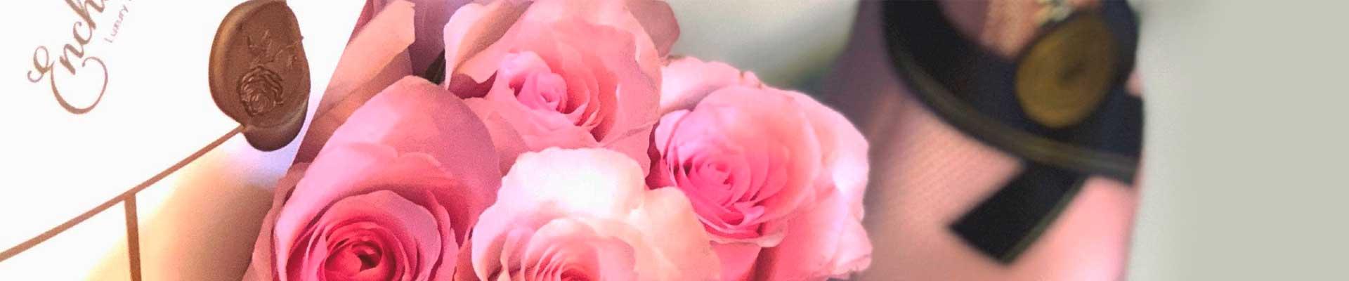 arranjos e buques de rosas