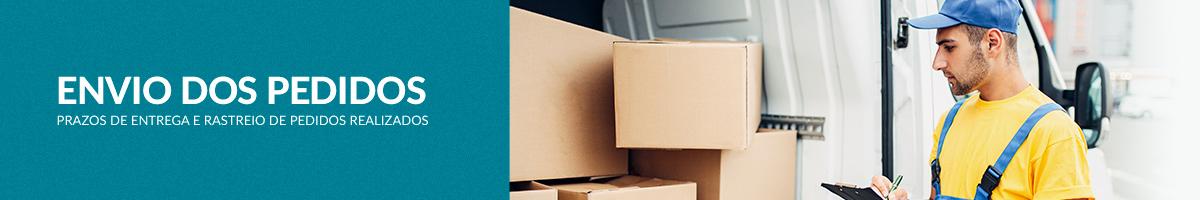 Envio dos Pedidos - Prazos de entrega e rastreio de pedidos realizados