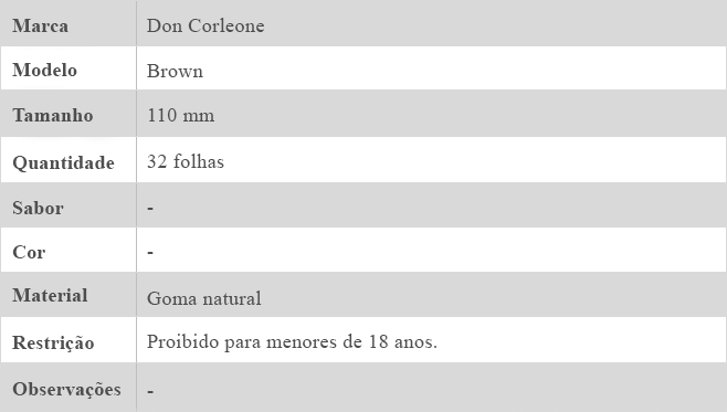 SEDA DON CORLEONE BROWN 2