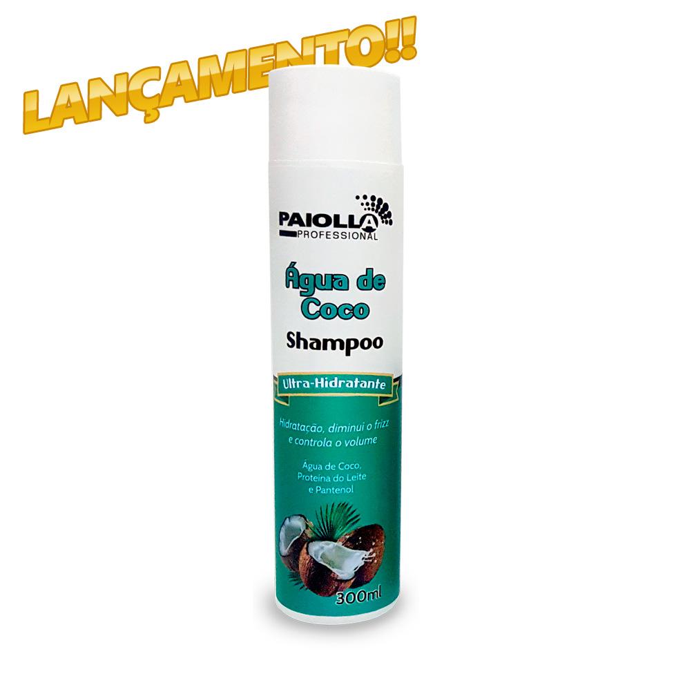 Shampoo Água de Coco - Ultra Hidratante