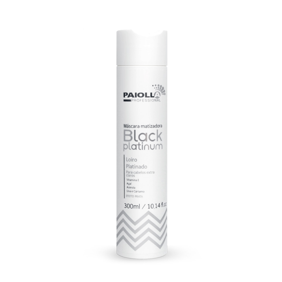 Máscara Matizadora Black Platinum - Loiro Platinado