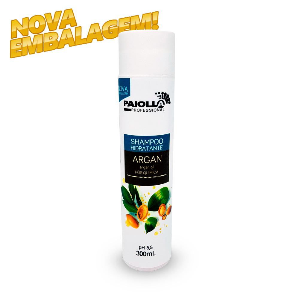 Shampoo Hidratante Argan - Pós Química