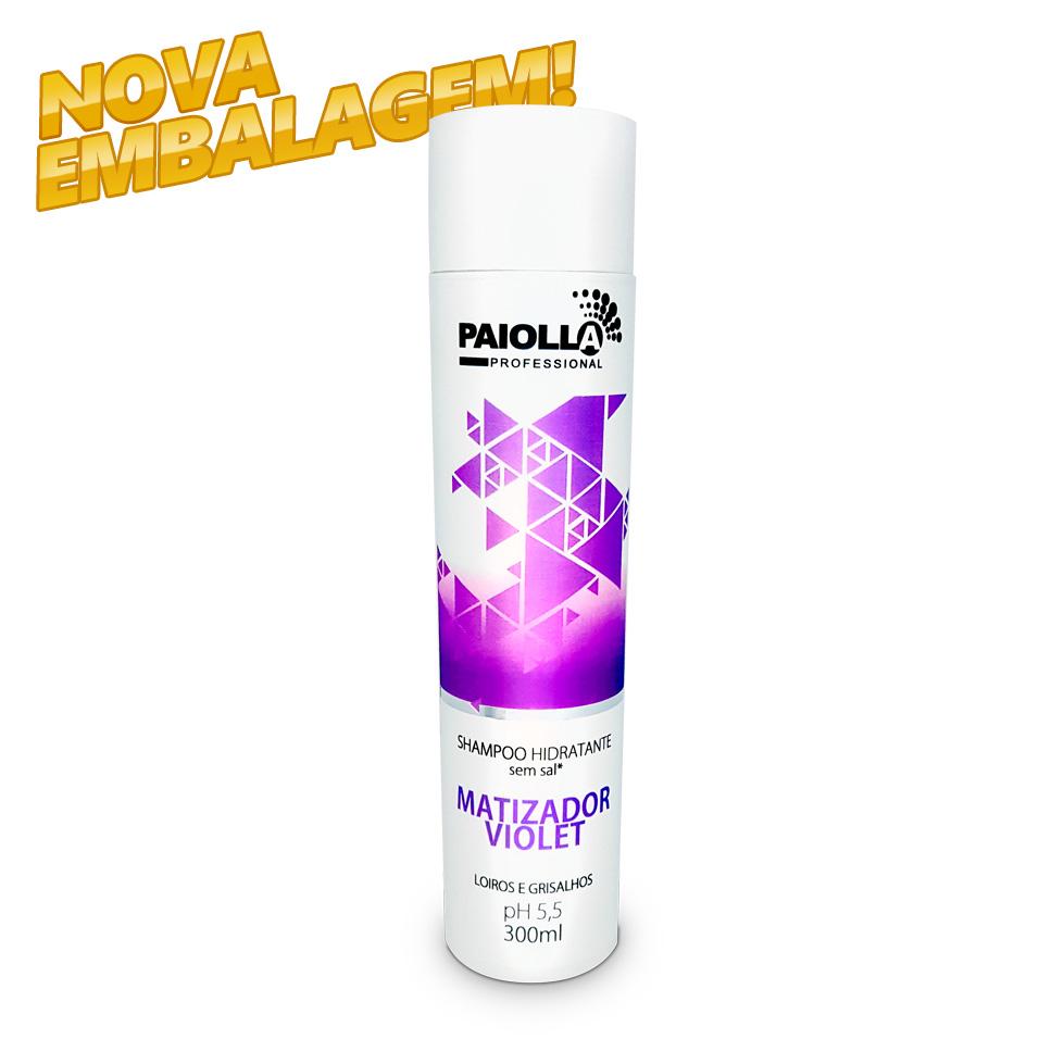 Shampoo Hidratante Matizador Violet