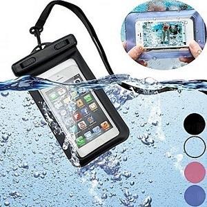 case a prova de agua para celular