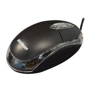 mouse preto, acessórios para computador