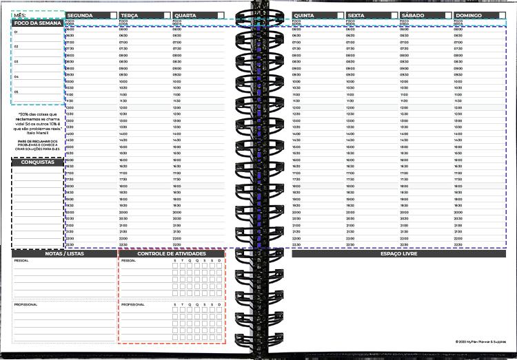 layout Semanal 2020