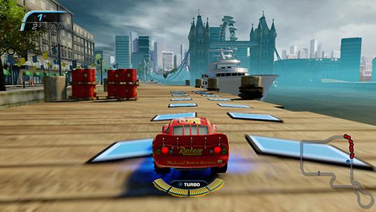 Carros 3 Correndo para Vencer