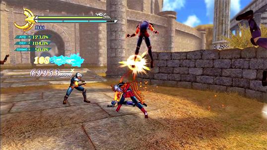 Cavaleiros do Zodíaco Batalha do Santuário
