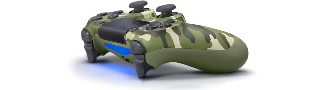 dualshock 4 verde camuflagem
