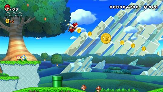 New Super Mario Bros. U + Super Luigi Bros U