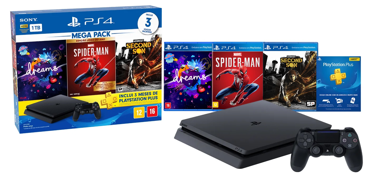 Playstation 4 mega pack