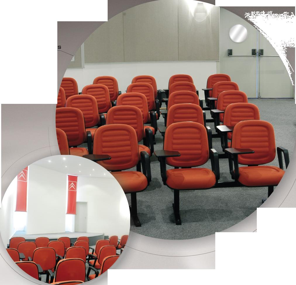 Poltronas para auditório 10036-ES
