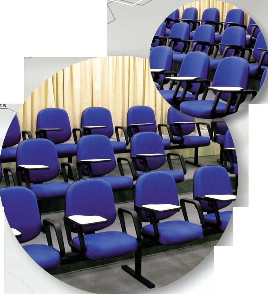Poltronas para auditório 8036-ES