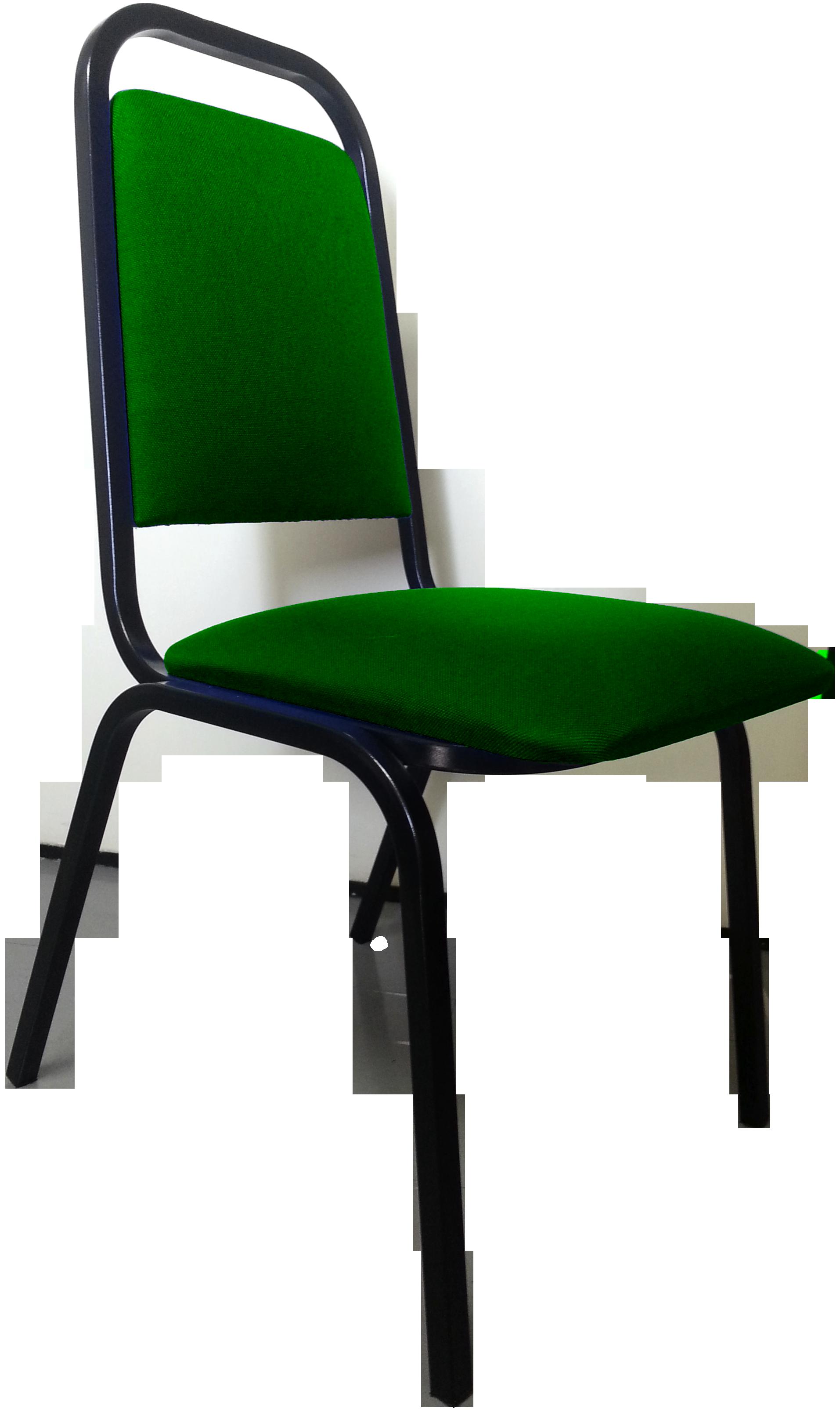 Cadeira Empilhável Convenção Verde