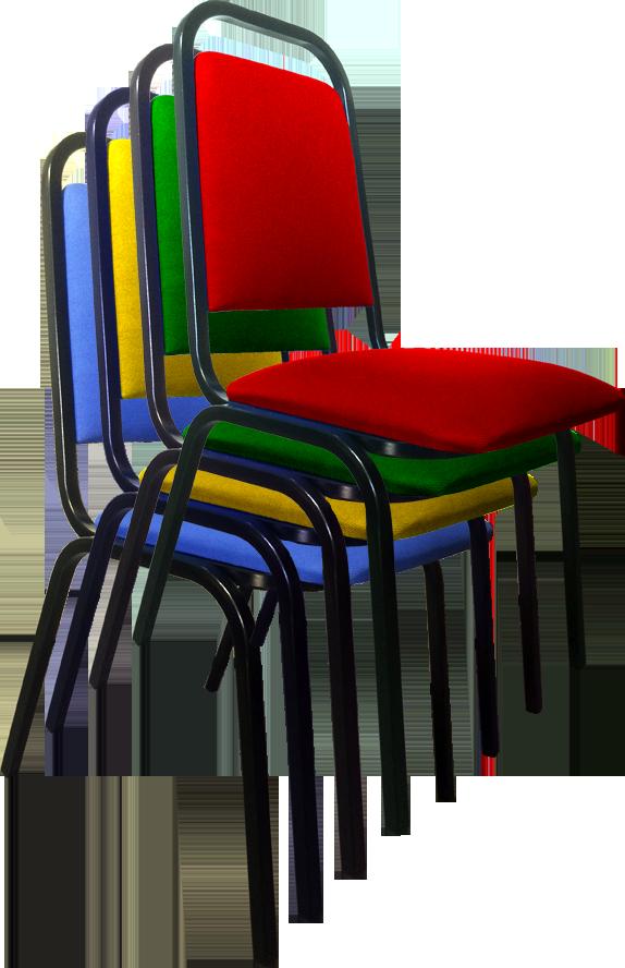Cadeira empilhável - Convenção
