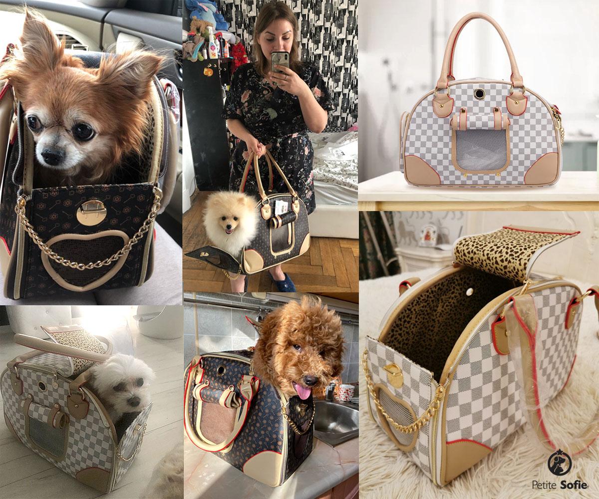 Bolsa Fashion Pet Carrier Petite Sofie