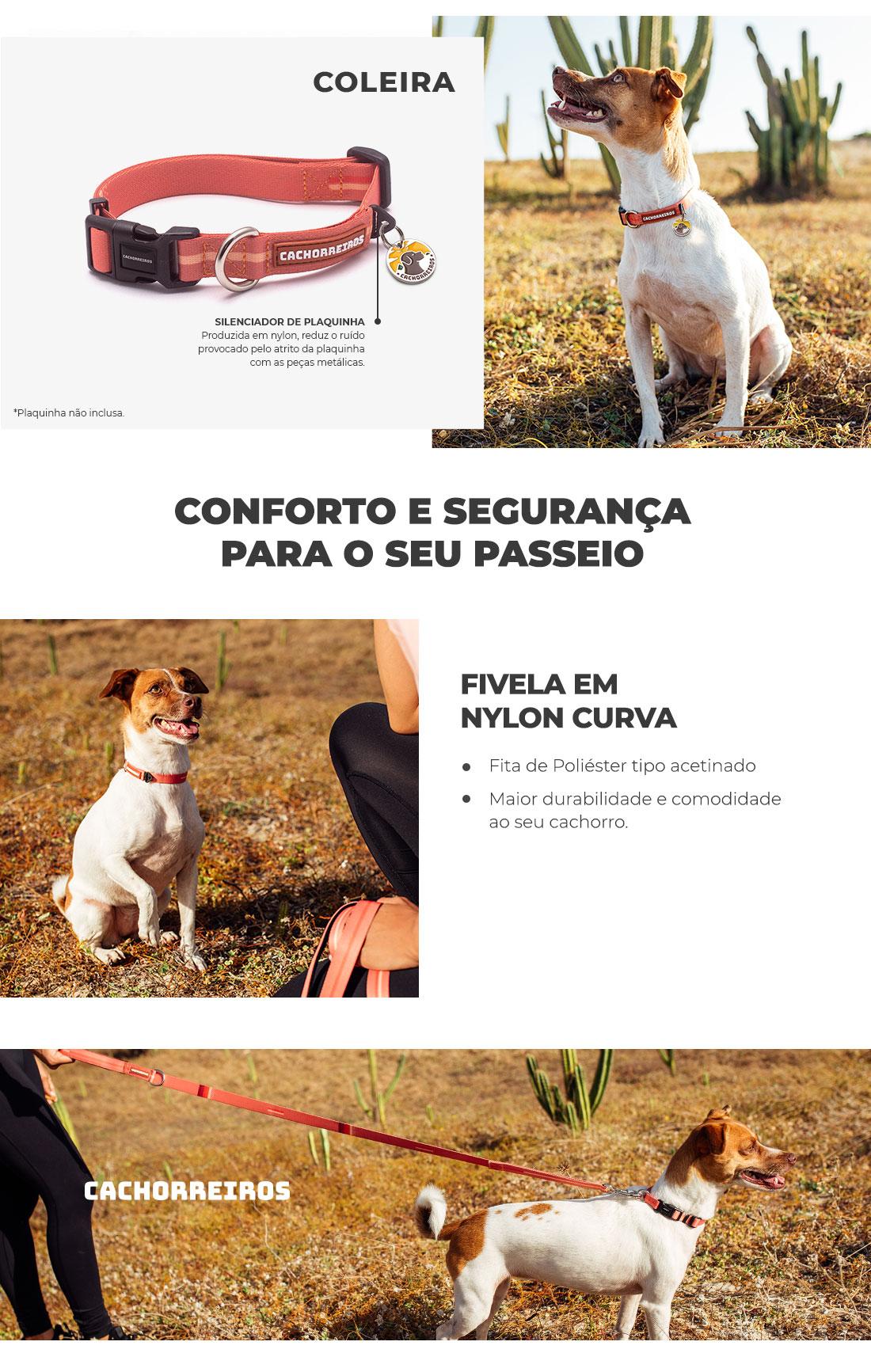 Informações Coleira de Pescoço Cachorreiros