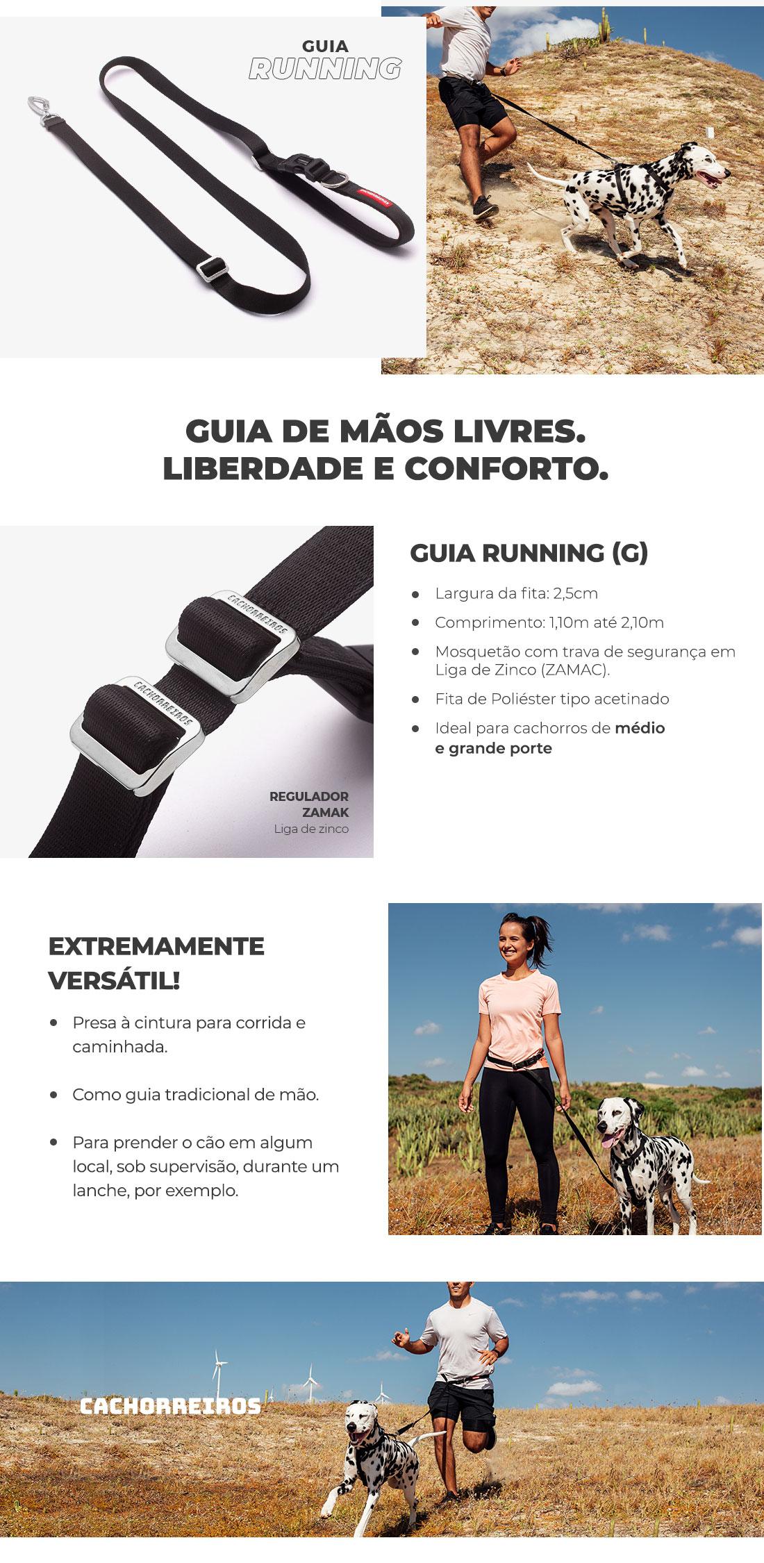 Guia Running Black Cachorreiros