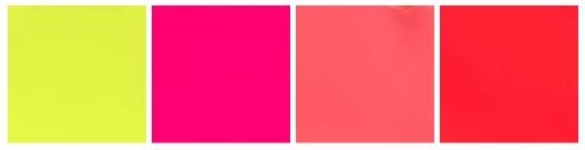 Paleta de Cores Neon Domidona