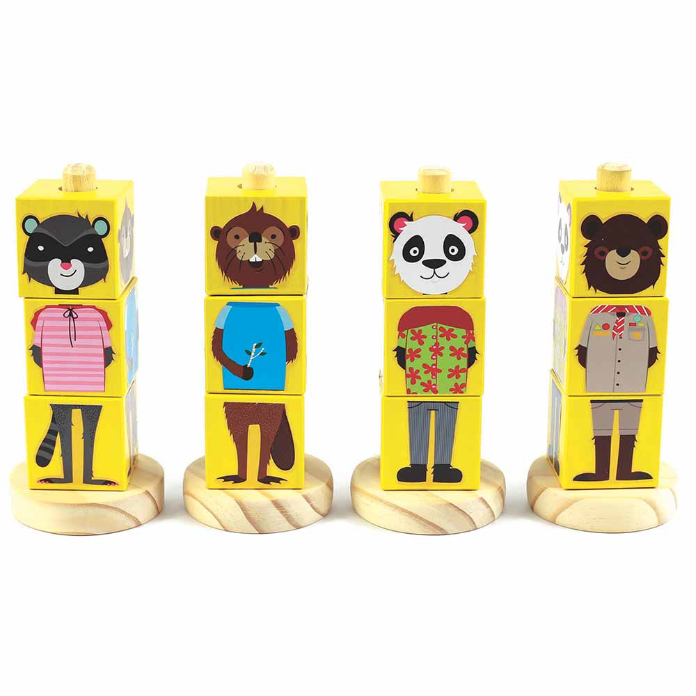 Cubo Animais NewArt Toy's