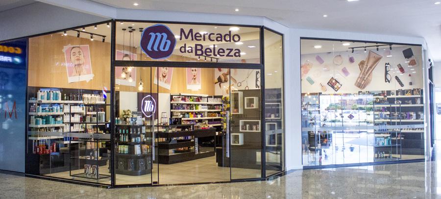 Loja Mercado da Beleza Shopping Gracher Brusque SC