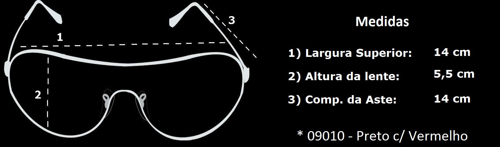 1141cd3c92fe5 Óculos 775 09 - Dr EPI - Proteção Individual