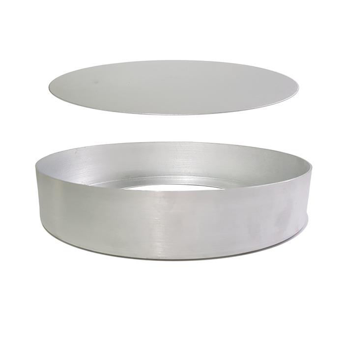 Forma Com Fundo Removível Alumínio Vigôr - Qualicompras
