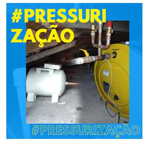 Banner - Pressurização